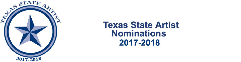 Texas State Artist Nomination Form